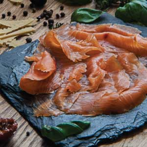 Cold Smoked Salmon Sliced Pack