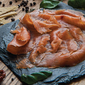 Cold Smoked Trout, Hand Sliced