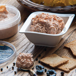 Freshly Produced Smoked Trout Pate